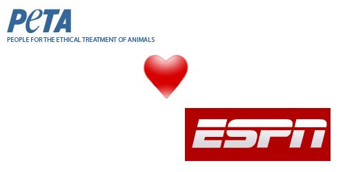 PETA Loves ESPN